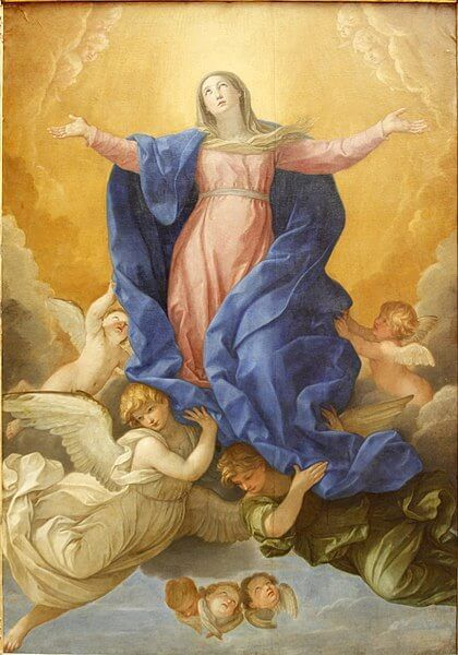 Holy Rosary Glorious Mysteries - Assumption of Virgin Mary - Guido Reni - 1638-1639