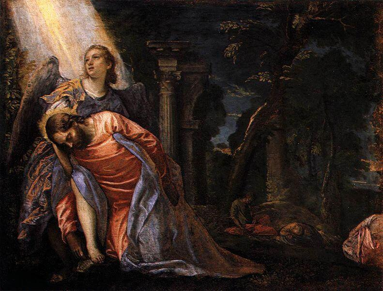 Christ in the Garden of Gethsemane - Paolo Veronese - 1583-1584
