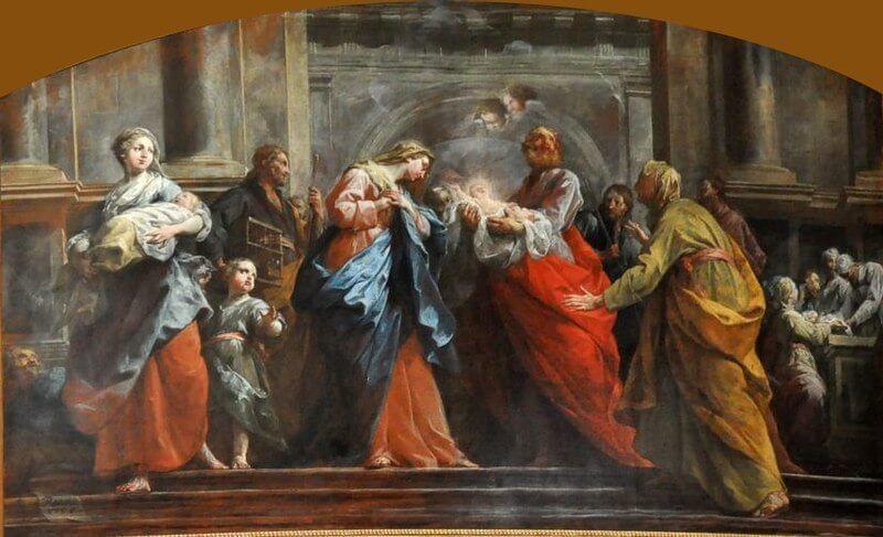 Joyful Mysteries - The Presentation