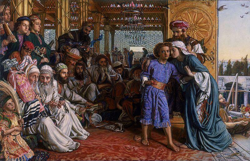 Joyful Mysteries of the Rosary - Finding of Jesus in the Temple