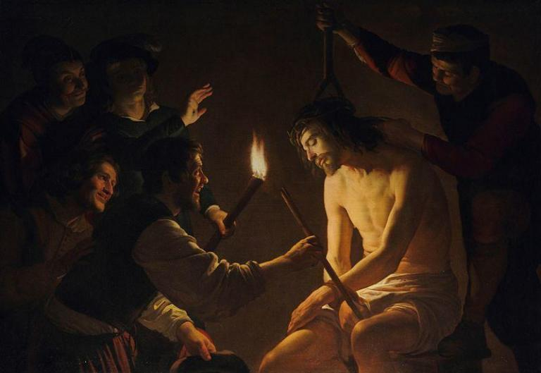 Holy Rosary Sorrowful Mysteries - Mocking of Christ