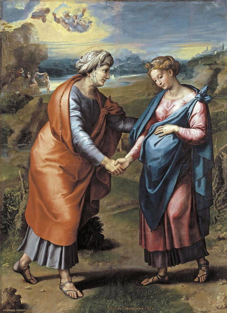 Joyful Mysteries of the Rosary - The Visitation