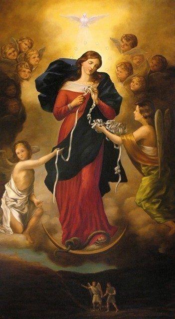Undoer of knots - Virgin Mary