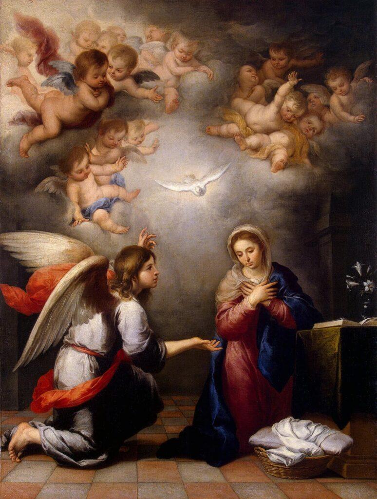 Joyful Mysteries of the Rosary - The Annunciation