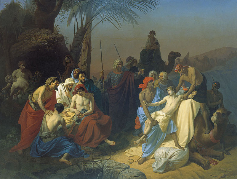 Children of Jacob Sell Their Brother - Painting
