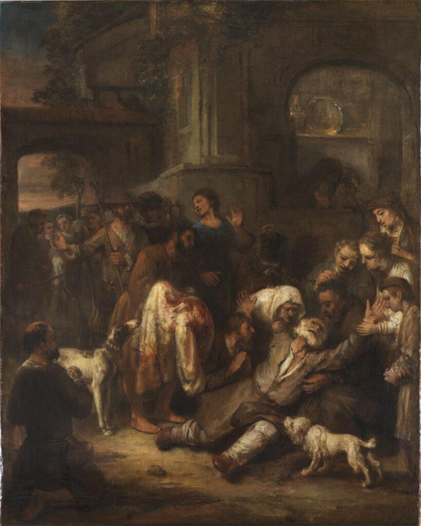 Jacob Shown Bloody Coat - Rembrandt -1860s
