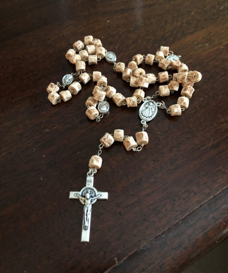Rosary with Stone beads from Medjugorje