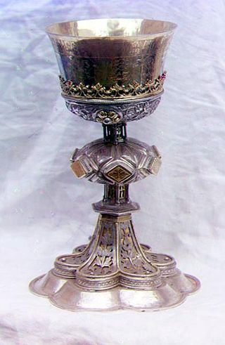 Consecration of Things - Chalice